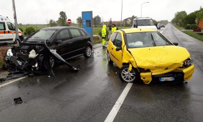 Incidente a Caselle in strada Leini, due auto coinvolte