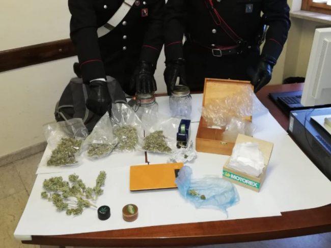 Spaccio di marijuana: 24enne arrestato dai Carabinieri di Cuorgnè