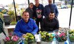 Fiori d'Azzurro a Lombardore, raccolti 500 euro per il Telefono Azzurro