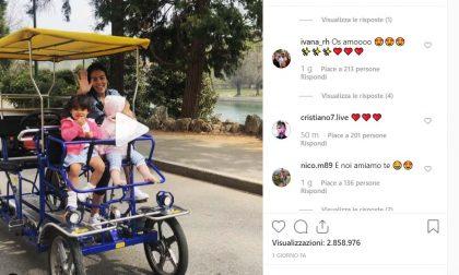 Georgina Rodriguez, dolce metà di Cristiano Ronaldo CR7, al parco con i figli | VIDEO