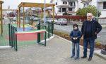 Volpiano: inaugurato il nuovo parco giochi di piazza Italia