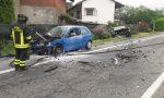 Schianto sulla Provinciale tra Ozegna e Castellamonte, due feriti