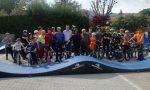 Inaugurato a Rivara per gli amanti delle 2 ruote il tracciato Pump track