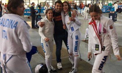 Circolo Delfino Ivrea ancora successi ai campionati di scherma
