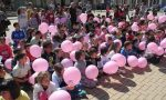 Nole vestita di rosa ha incontrato Franco Balmamion