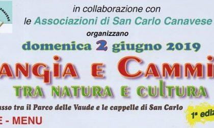 San Carlo, «Mangia e Cammina» con la Pro Loco