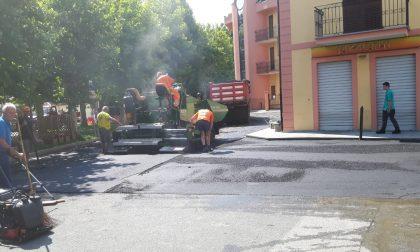 Castellamonte: partiti i lavori di sistemazione della viabilità