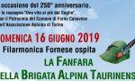 Domenica 16 a Forno protagonista la Fanfara della Taurinense