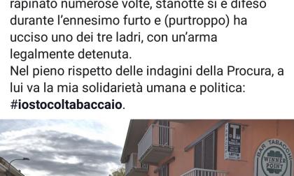 """Matteo Salvini sulla sparatoria a Ivrea: """"Io sto col tabaccaio"""""""