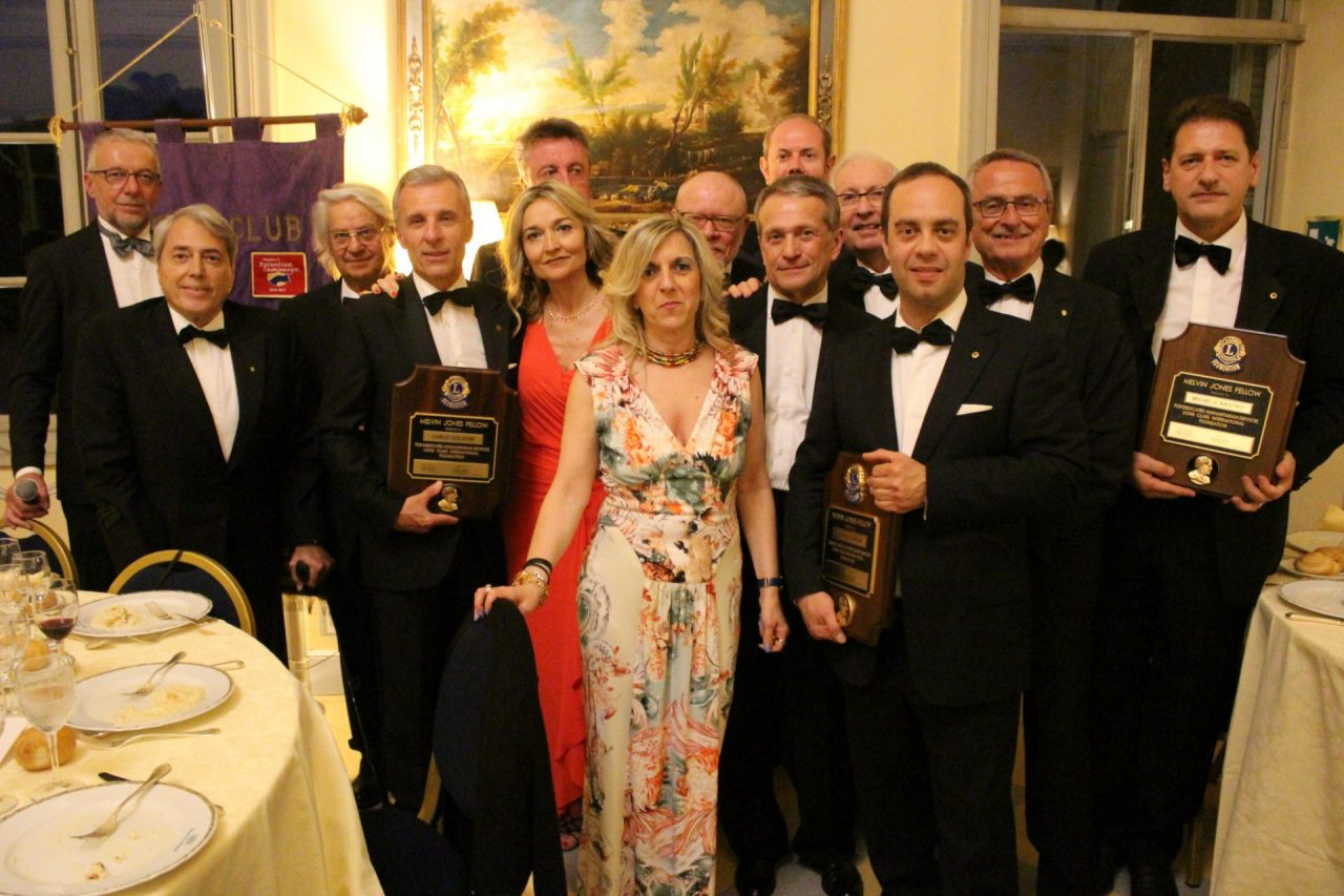 Charter Night: Elio Torrieri 46° presidente del Lions Club alto Canavese