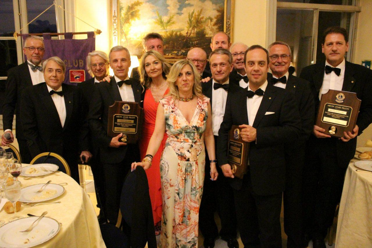 Charter Night: Elio Torrieri 46° presidente del Lions Club alto Canavese