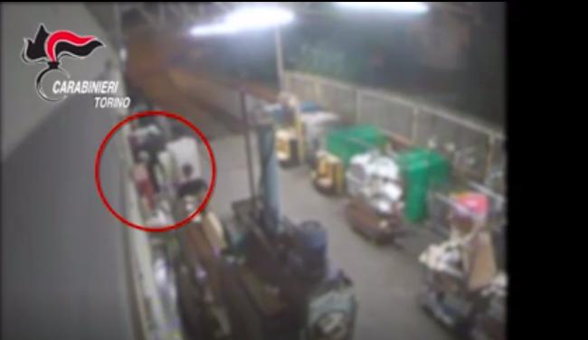 Arrestati in diretta mentre svaligiano un supermercato. IL VIDEO