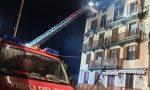 Balme: a fuoco il tetto dell'albergo Camussot