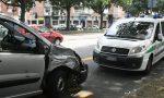Schianto tra moto e Scudo: due motociclisti in ospedale
