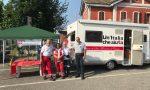 SAN MAURIZIO: in piazza Marconi il «punto soccorso» per difendersi dal caldo