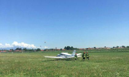 Piper: atterraggio d'emergenza
