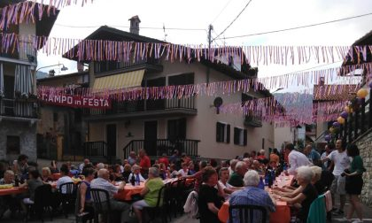 Campo Canavese: un grande successo la tradizionale Cena in piazza