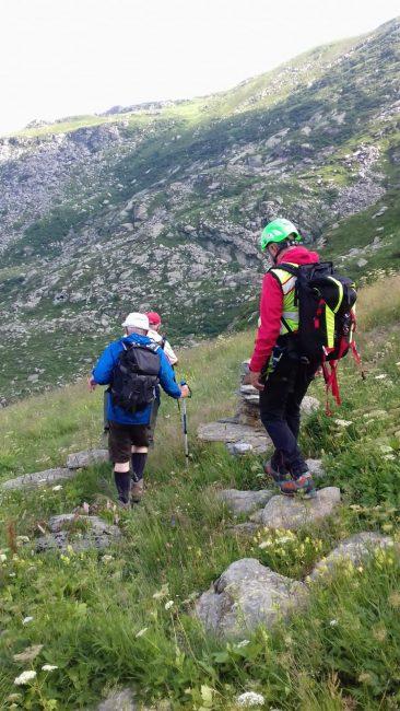Escursionista precipita in un dirupo a Quincinetto
