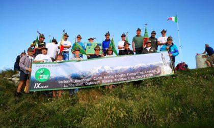 Monte Soglio: un successo il tradizionale raduno degli Alpini