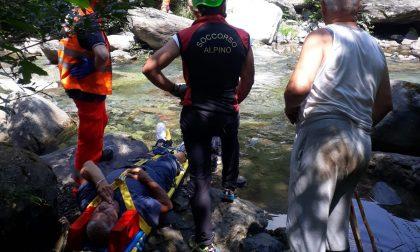Turista ferito a Valprato Soana, pronto intervento del Soccorso Alpino