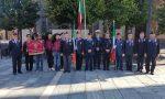 A Leini alzabandiera a mezz'asta in onore del carabiniere ucciso a Roma