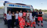 I giovani volontari dell'Anpas Ivrea incontrano la Tiraboschi