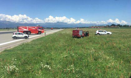 Piper perde carburante, nuovo atterraggio di emergenza a Caselle