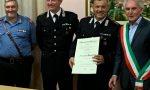 Attestato di Cavaliere al Merito della Repubblica Italiana all'appuntato scelto Alessandro Manganiello