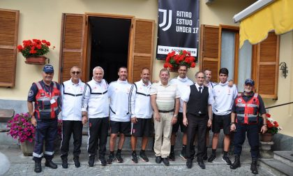 La Juve Under 17 si allena in Val di Lanzo