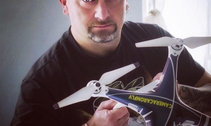 Intervista al regista di Azeglio Achille Zaino, fra i primi ad effettuare riprese aeree con un drone