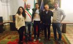 Cittadinanza onoraria di Cuorgnè e San Colombano Belmonte a Egan Bernal