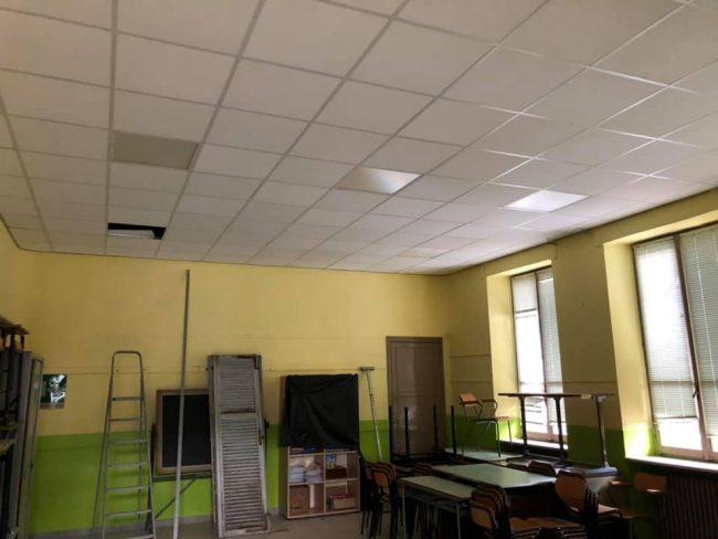 Lavori in via di completamento in tutte le scuole che durante la pausa estiva hanno subito interventi di manutenzione straordinaria a Cuorgnè.