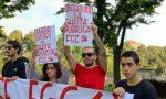 Fronte della Gioventù Comunista protesta al test di medicina a Torino | FOTO