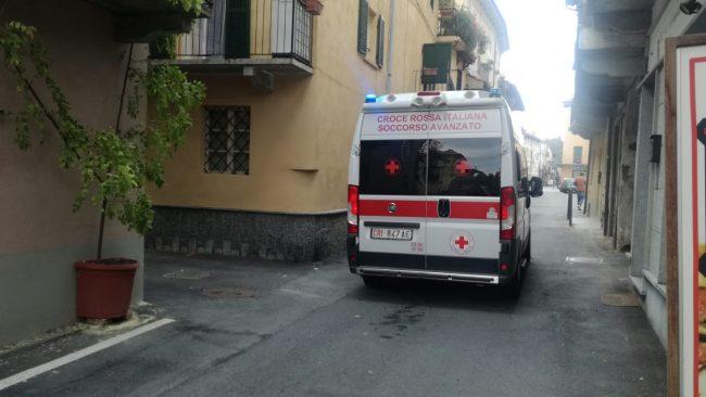 Operaio cade da una scala in un cantiere a Rivarolo