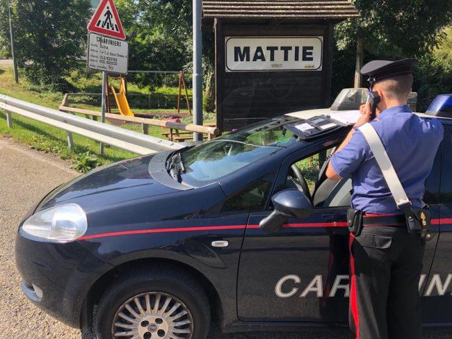 Pusher arrestato in Val di Susa dai carabinieri dopo la segnalazione di alcuni cittadini.