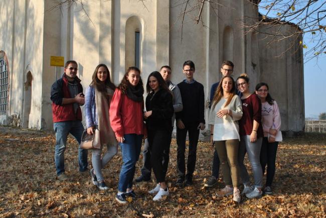 """Una domenica da """"ciceroni"""" per gli studenti del Liceo Botta di Ivrea"""