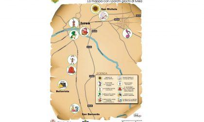 Giochiamo insieme al Parco Giochi, domenica a Ivrea l'inaugurazione della mappa
