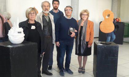 """Castellamonte: inaugurata con successo la mostra """"Forme e Colori"""""""