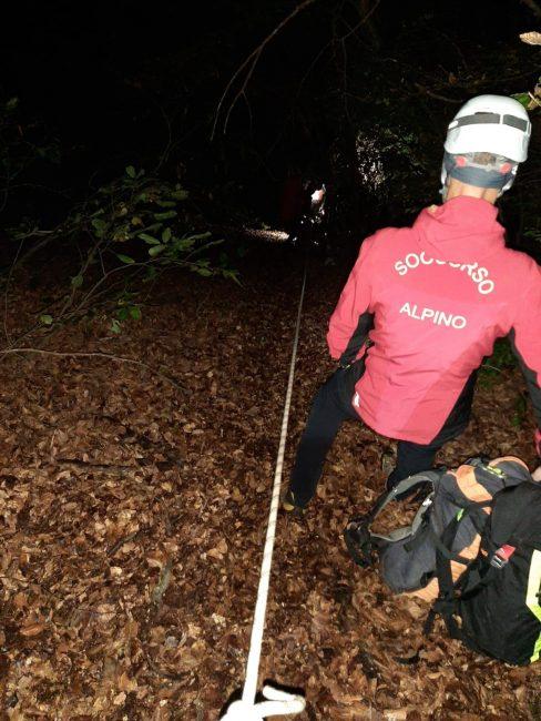 Cercatore di funghi disperso nel cuneese, salvato dal soccorso alpino