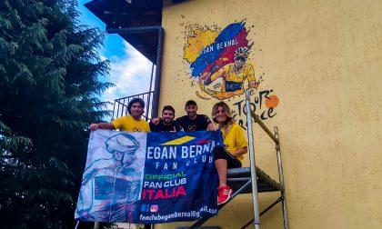 Egan Bernal: un murales per il vincitore del Tour 2019