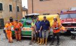Mathi: volontari «Aib» in aiuto delle popolazioni alluvionate