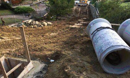 Completati i lavori di sistemazione della rete idraulica in località Prej a Bollengo