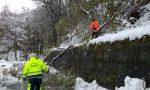 Comuni al buio: i soccorsi nella neve