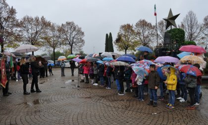 Celebrato a Villanova il 4 novembre con la scuola primaria   FOTO