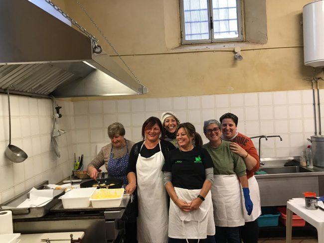 A Favria la Castagnata organizzata da Pro loco e Comune vince contro la pioggia