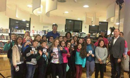 Gli alunni della scuola Primaria di Busano a lezione con l'astronauta Paolo Nespoli