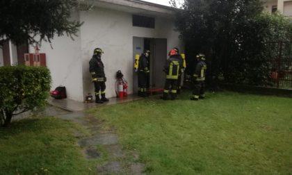 Ciriè: incendio ad una cabina elettrica, blackout nella zona di via Lanzo