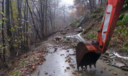 Frane e alberi caduti nelle Valli di Lanzo: frazione Almesio di Ceres isolata