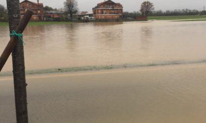 Continua a piovere strade chiuse a Leini