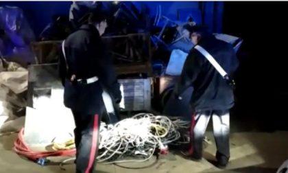 Ladri specializzati in furto di rame: 10 arresti   FOTO